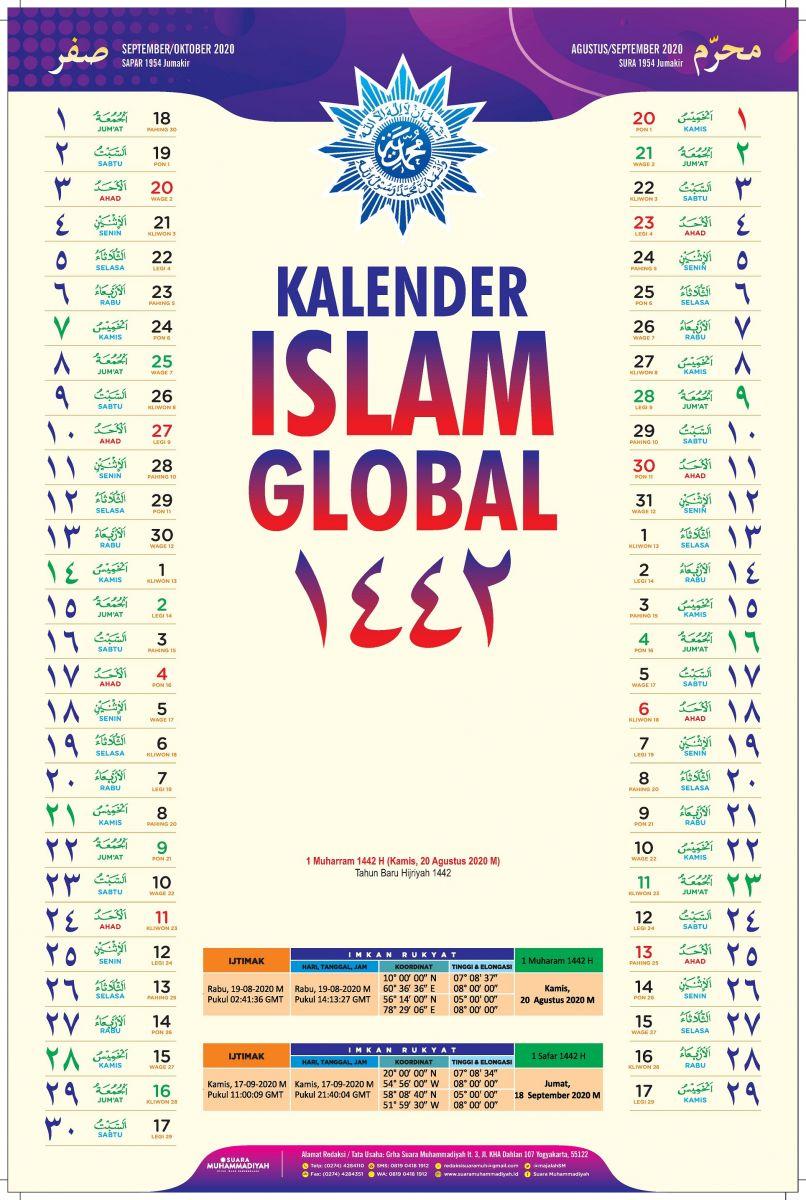 Kalender Islam Global 20, Kado Muhammadiyah untuk Umat Islam ...
